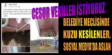 AKP'Lİ MARAL'DAN ÜNYE BELEDİYESİNİ ELEŞTİREN SP'Lİ OCAK'A, DESTEK