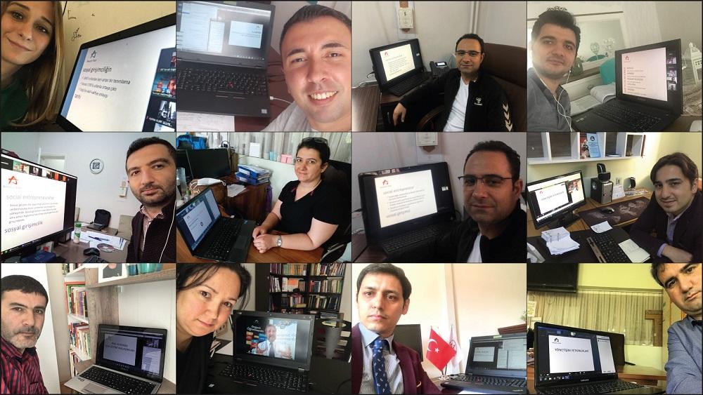 Anadolu Vakfı'nın Değerli Öğretmenim Projesi Yaratıcı Düşünme Eğitimleri ile Ordu'da