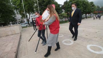 19 Mayıs Atatürk'ü Anma, Gençlik ve Spor Bayramı, Ordu'da düzenlenen törenlerle kutlandı.