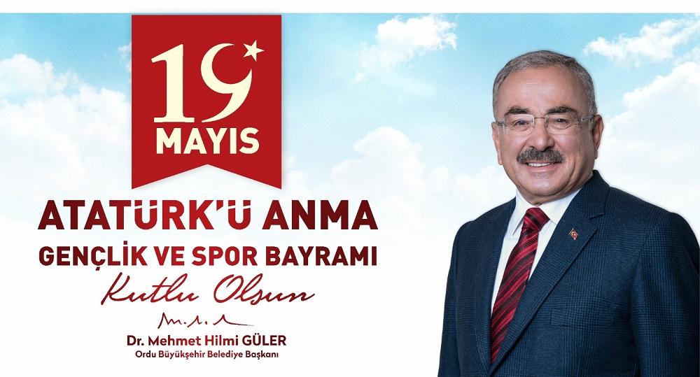 """""""19 MAYIS GENÇLİK, GENÇLİK İSE GELECEK DEMEKTİR"""""""