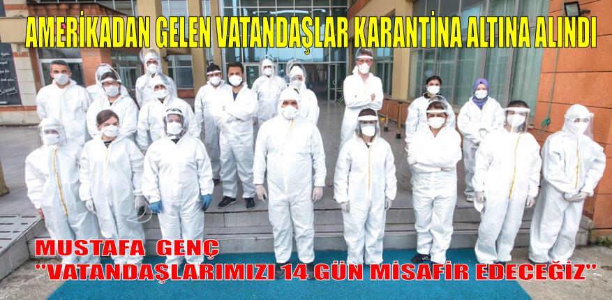195 Kişi Lebibe Ergin Karlıbel Yurdunda Karantina Altına Alındı