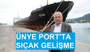 Ünye Port Projesi'nin İhalesi Tamamlandı.