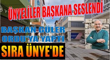 ÜNYE'NİN ALTINORDU'DAN NEYİ EKSİK