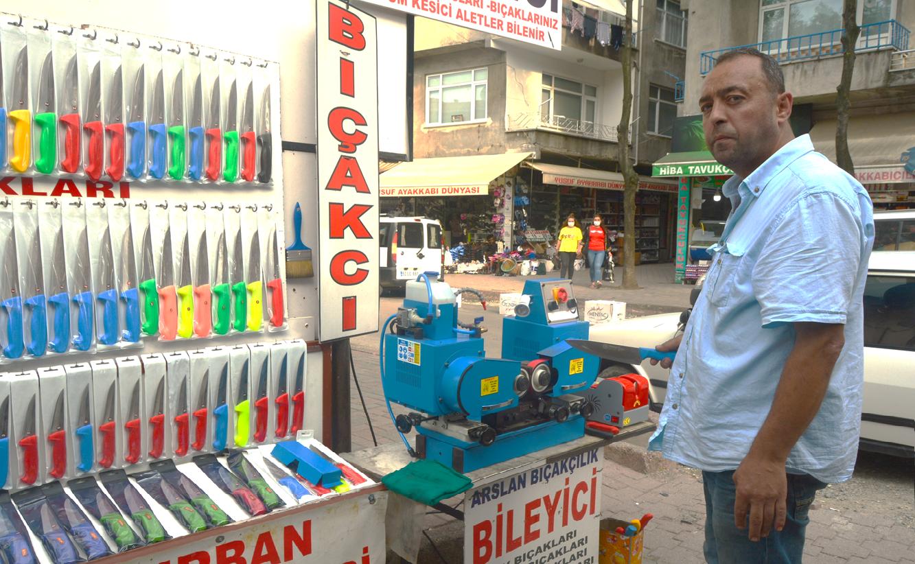 BIÇAKÇILARIN 'KURBAN' MESAİSİ BAŞLADI