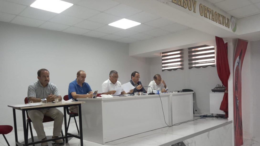 Yeni Eğitim Öğretim Yılı Eğitim Kurumları Değerlendirme Toplantısı Yapıldı