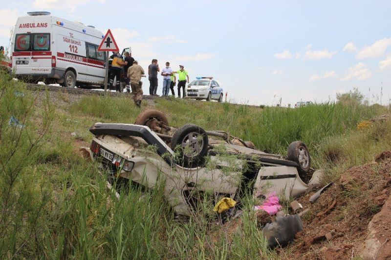Ünyeli aile Sivas'ta kaza yaptı