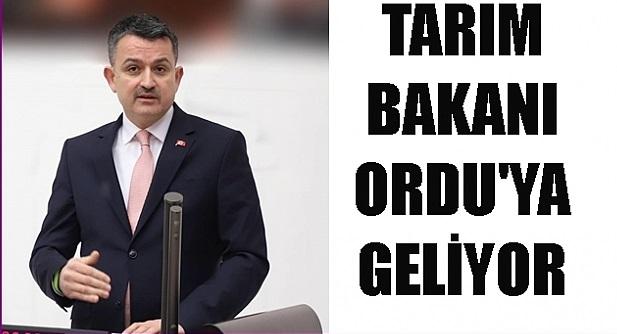 PAKDEMİRLİ ORDU'YA GELİYOR