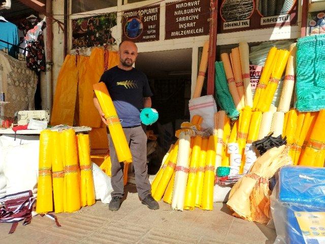 Fındık hasat malzemeleri satışa çıktı