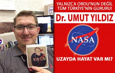 ORDU'LU BİLİM ADAMI MARSA GİDECEK