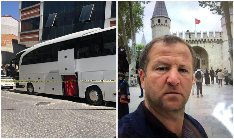 Şoför otobüsün içinde ölü bulundu