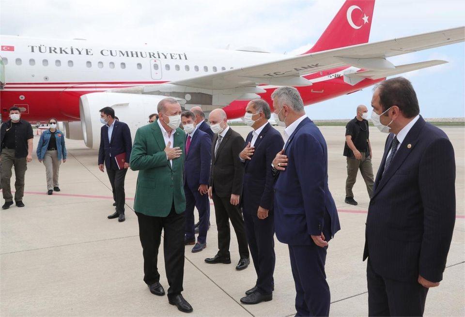 CUMHURBAŞKANI GİRESUN'DA!