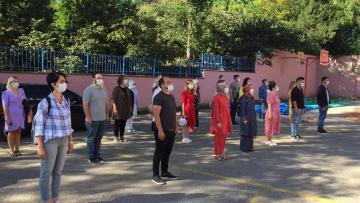 2020-2021 Eğitim-Öğretim Yılının İlk Ders Zili Çaldı