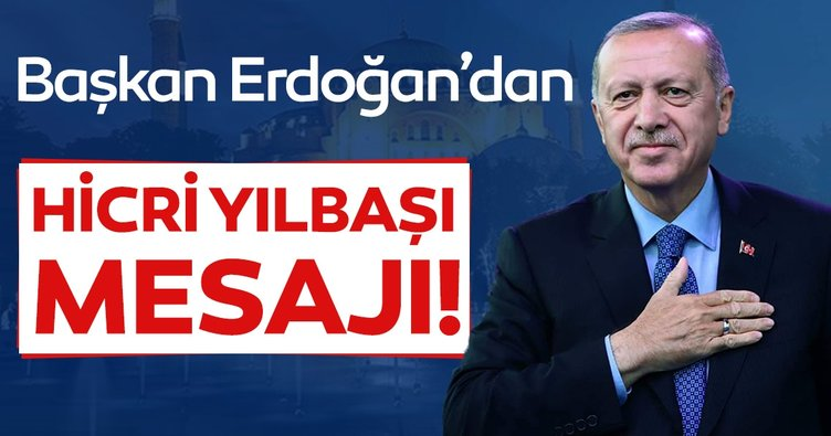 Başkan Erdoğan'dan Hicrî Yılbaşını Kutladı