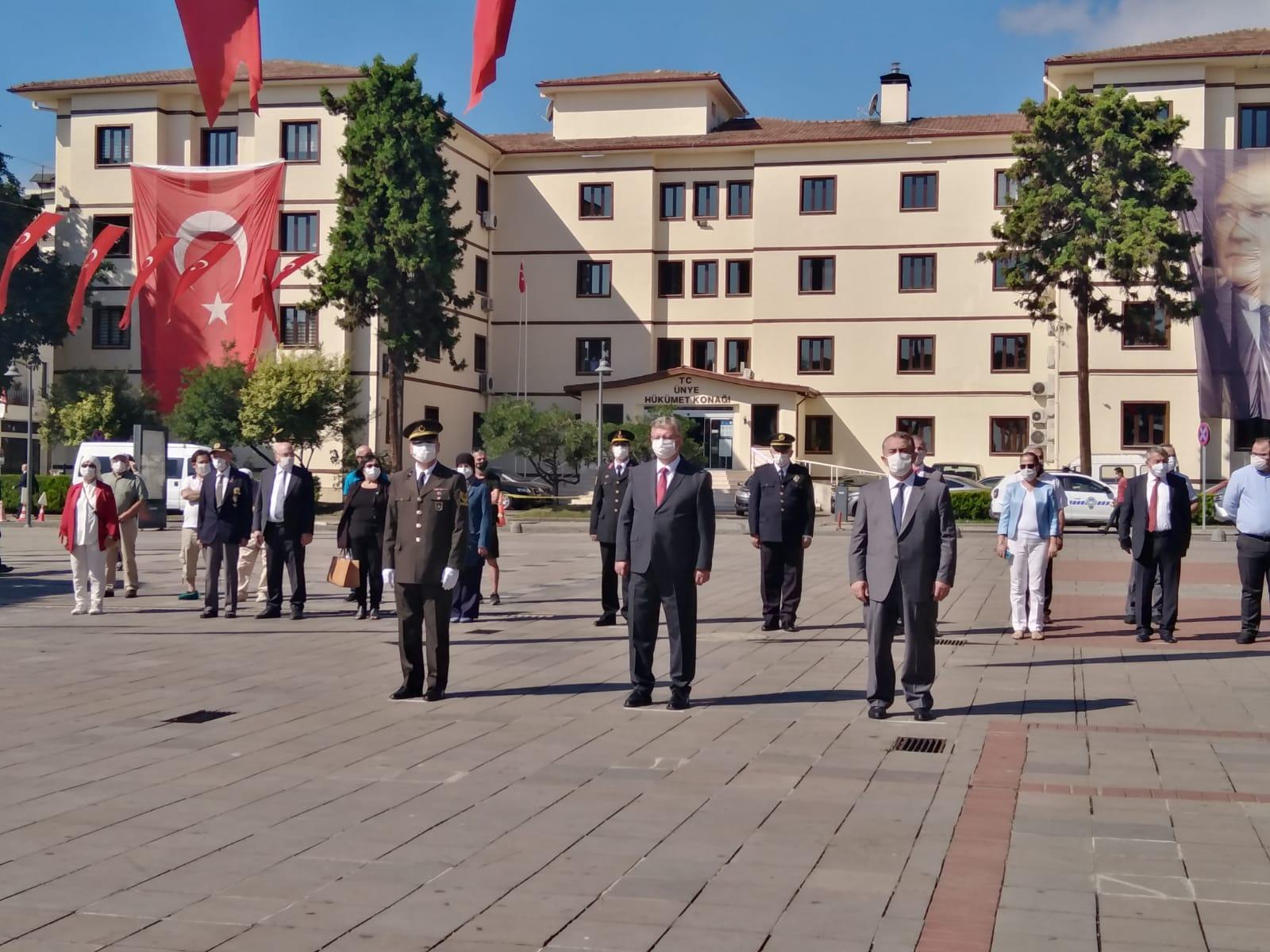 30 AĞUSTOS ZAFER BAYRAMI COVİD-19 GÖLGESİNDE KUTLANDI