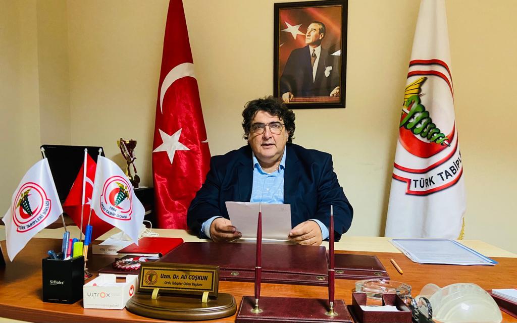11 Odadan Türk Tabipler Birliği Başkanına Ret