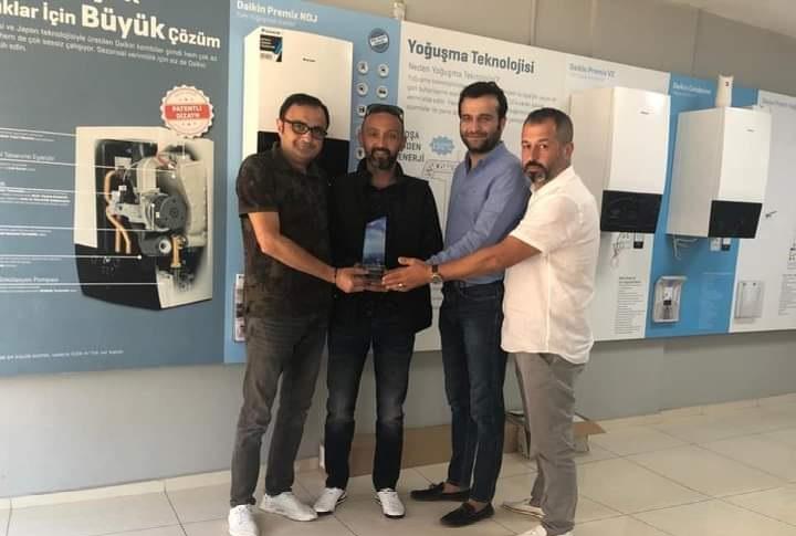 Daikin Türkiye 1.Si Ünyeli Firma Oldu