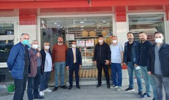 """MHP ÜNYE TEŞKİLATINDAN """"ASKIDA EKMEK"""" KAMPANYASINA DESTEK"""