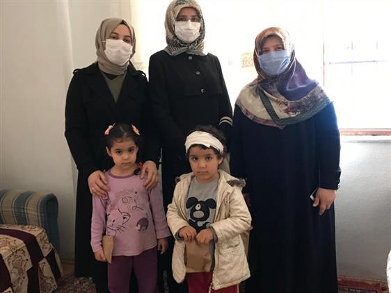 Yetim ve Mülteci Çocuklar Ziyaret