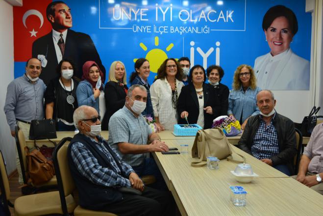 Iyi parti ünye teşkilatı, 3. kuruluş yıl dönümünü kutladı