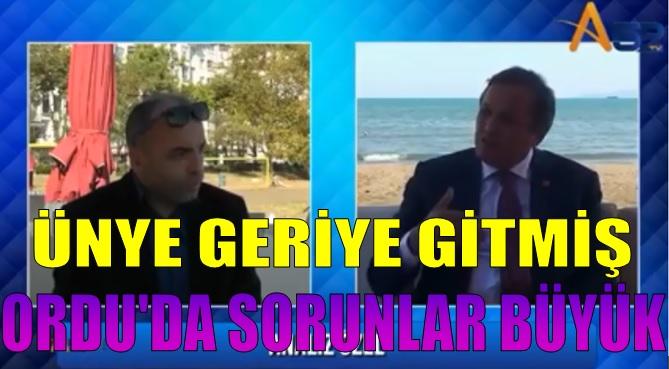 """Seyit Torun Ünye'de A52 TV Konuştu""""Hükumet Sınıfta Kaldı"""""""