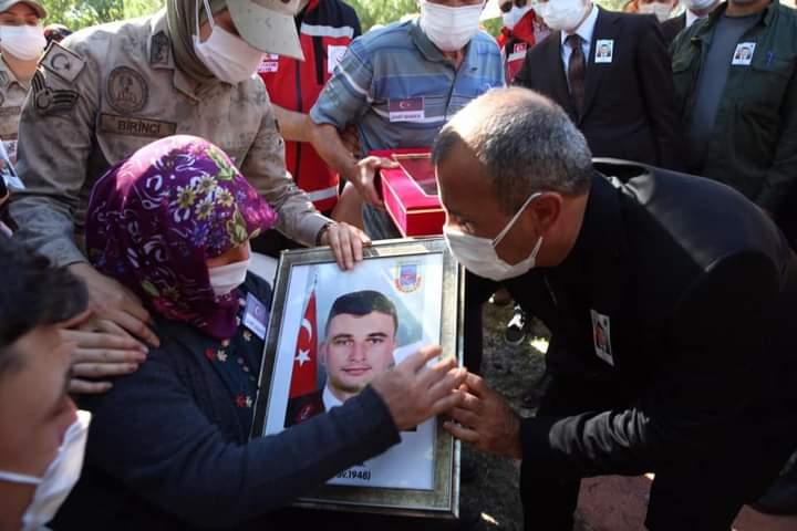 Kazada Şehit Olan Uzman Onbaşı Son Yolculuğuna Uğurlandı
