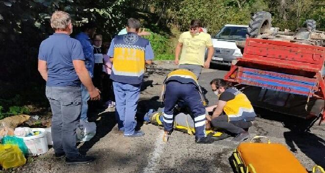 Kumru'da Patpat Kazası: 5 Yaralı