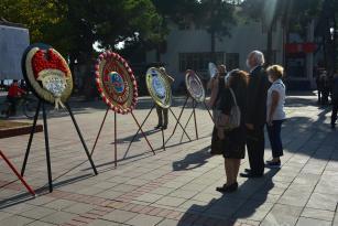 Ünye'de Alternatif Cumhuriyet Bayramı Töreni