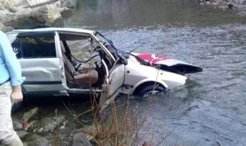 Kardeşler kaza yaptı: 1 ölü, 1 yaralı