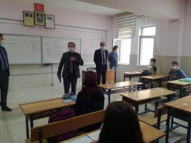 OKULLARDA COVID-19 DENETİMLERİ SIKLAŞTIRILDI