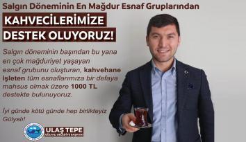 Gülyalı'da Kahvecilere 1000 TL'lik Destek Müjdesi!