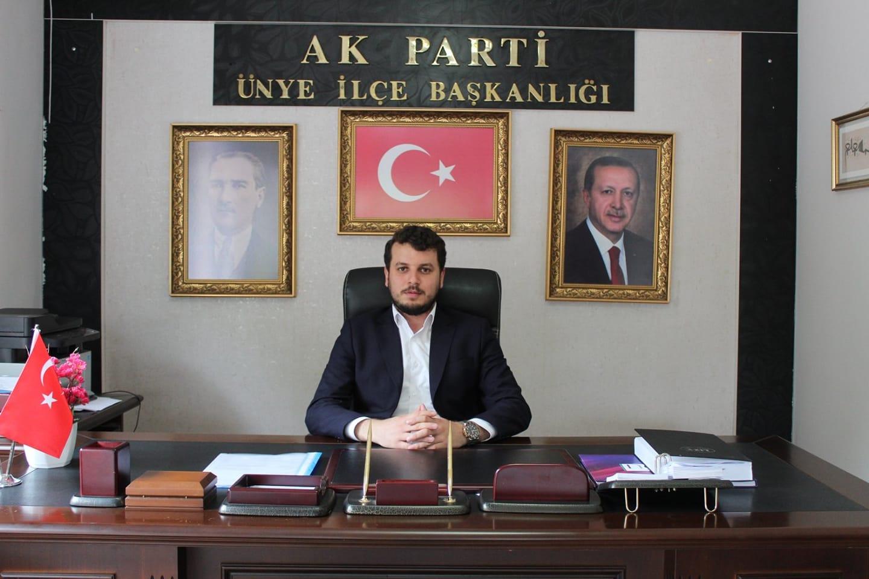 ÜNYE'DE AK PARTİ'Lİ GENÇLER KONGREYE HAZIRLANIYOR
