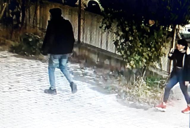 Fındık hırsızları bakın nasıl yakayı ele verdi