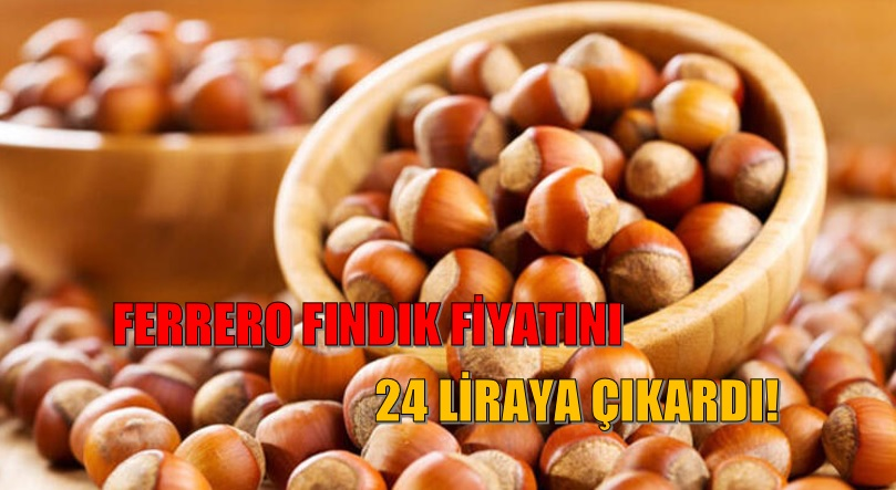FERRERO FINDIK FİYATINI 24 LİRAYA ÇIKARDI!