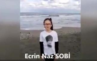 Ordu'yu Ecrin Naz Temsil Etti