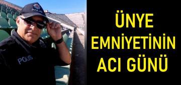 POLİS MEMURU COVİD-19'a YENİK DÜŞTÜ