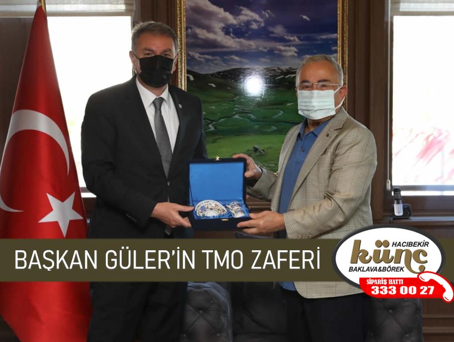 BAŞKAN GÜLER'İN TMO ZAFERİ
