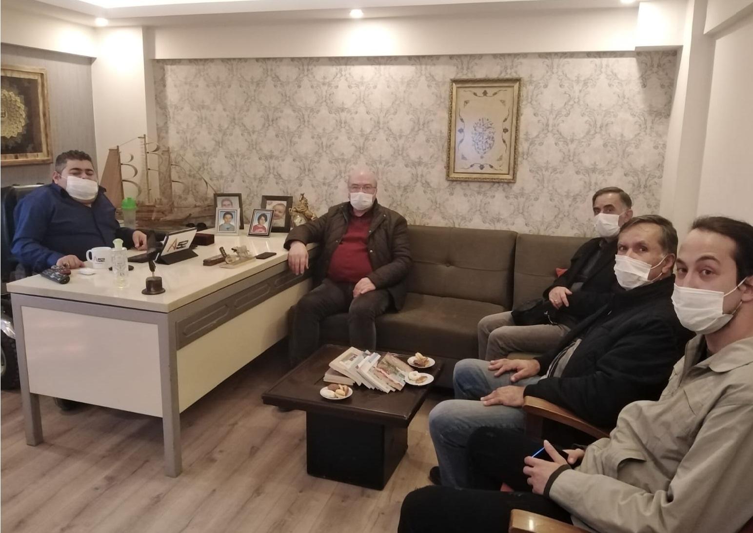 """ÇAKIR MEDYA'YI ZİYARET EDEN MARAL """"SEÇİME HAZIRIZ""""DEDİ"""