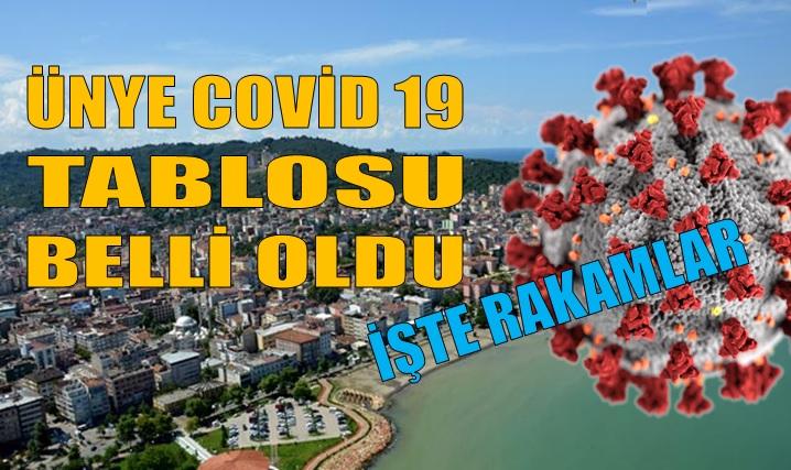 ÜNYE'DE COVID 19 VAKA SAYILARINDAKİ ARTIŞ KORKUTUYOR