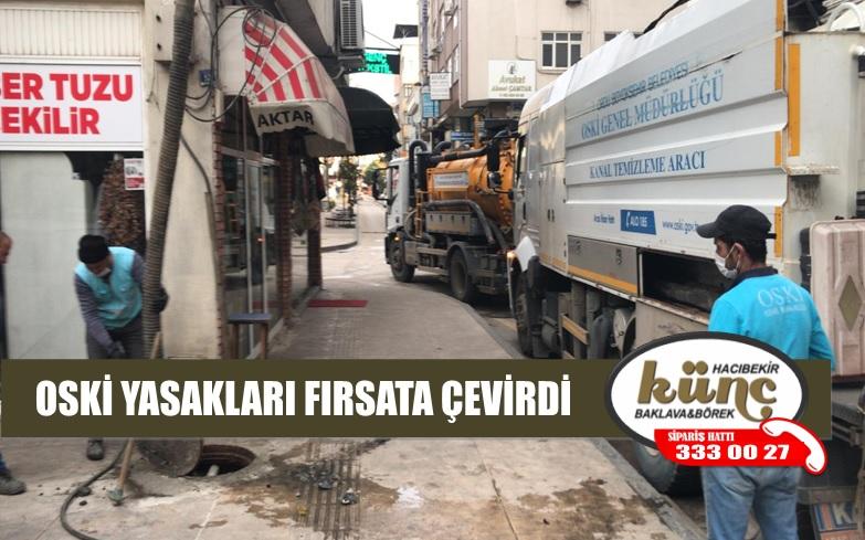 OSKİ İŞ BAŞINDA