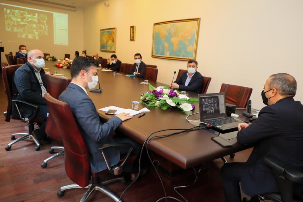 Haftalık Mutat Covid-19 Pandemisi Değerlendirme Toplantısı Yapıldı