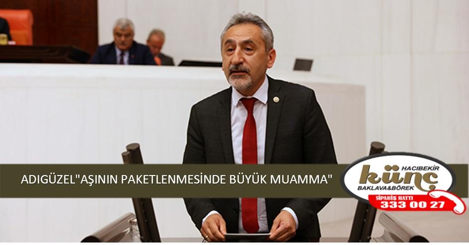 """ADIGÜZEL""""AŞININ PAKETLENMESİNDE BÜYÜK MUAMMA"""""""