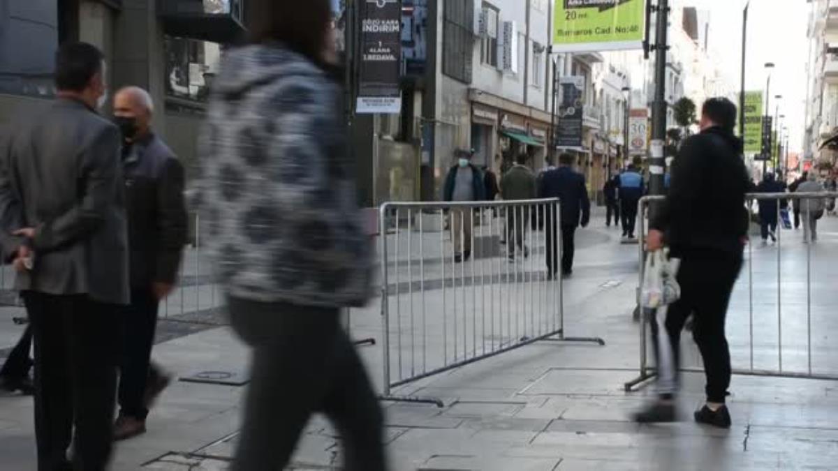 işlek caddelerde HES kodu uygulaması ile giriş yapılabilecek