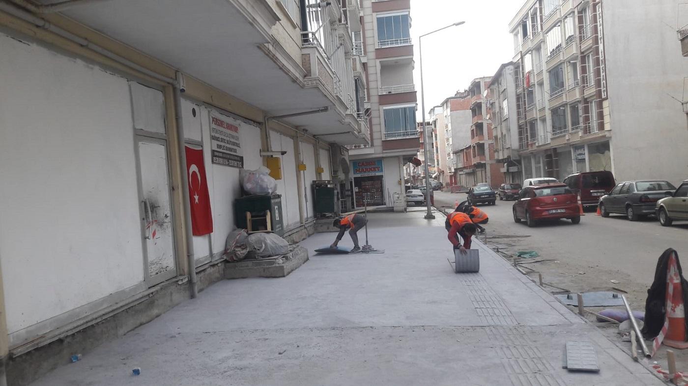 FATSANIN KALDIRIMLARI YENİLENİYOR