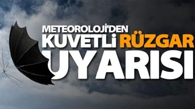 METEOROLOJİ UYARDI !
