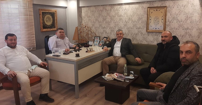 ÜTBO BAŞKANI USLU'DAN A52TV KUTLAMA ZİYARETİ