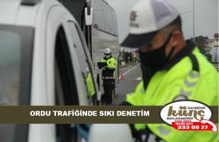 ORDU TRAFİĞİNDE SIKI DENETİM