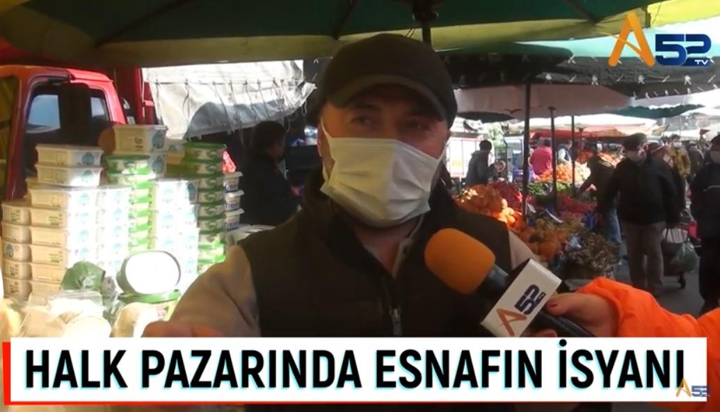 PAZARCI PANDEMİ KADAR MARKETLERDEN DE ŞİKAYETÇİ