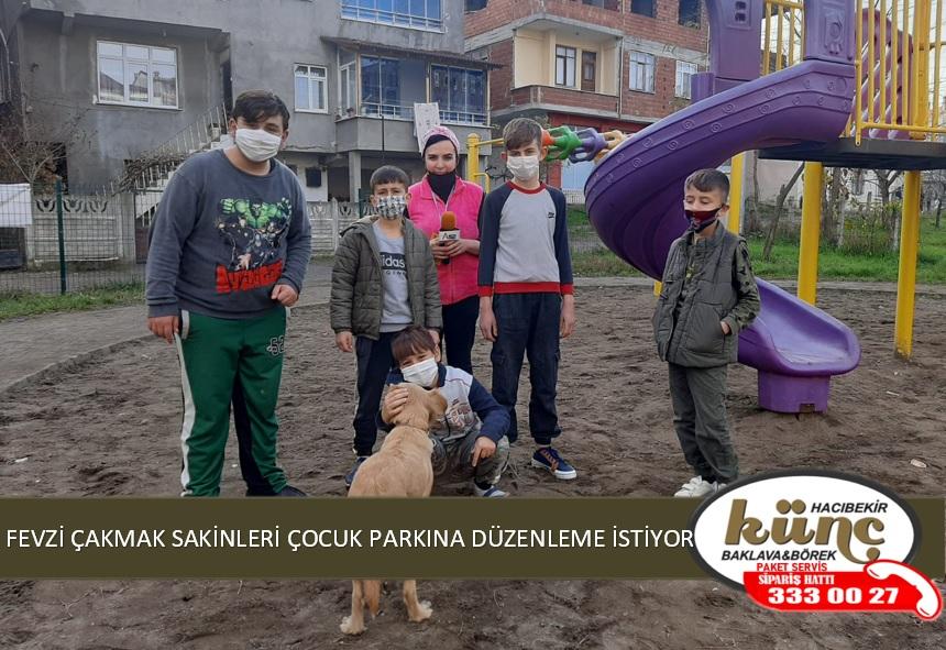 ÜNYE'DE ÇOCUK PARKI TEHLİKE SAÇIYOR