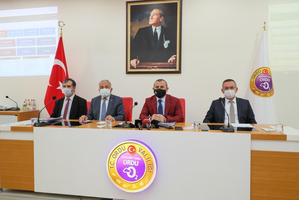 2021 Yılı 1. Dönem İl Koordinasyon Kurulu Toplantısı Yapıldı