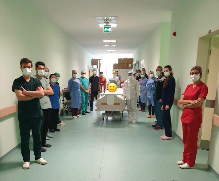 Ünye Devlet Hastanesi'nde 2 Entübe Hasta Normal Servise Alındı
